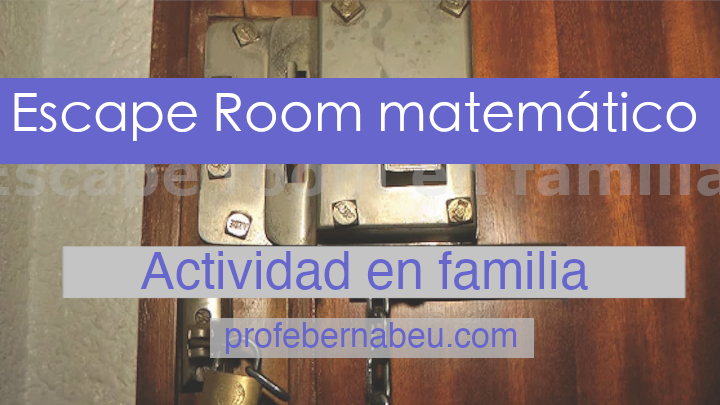 Escape room en familia