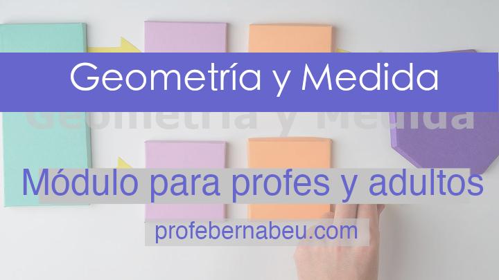 medida y geometría - profebernabeu.com